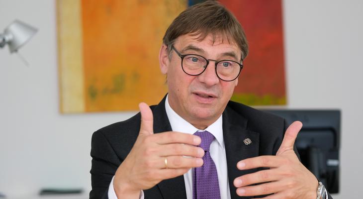 Dr. Dr. Volker Jung, Kirchenpräsident der EKHN