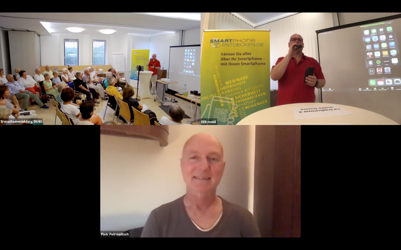 SMARTphone ENTDECKEN Auftakt in Bad Soden am 29.08.2019
