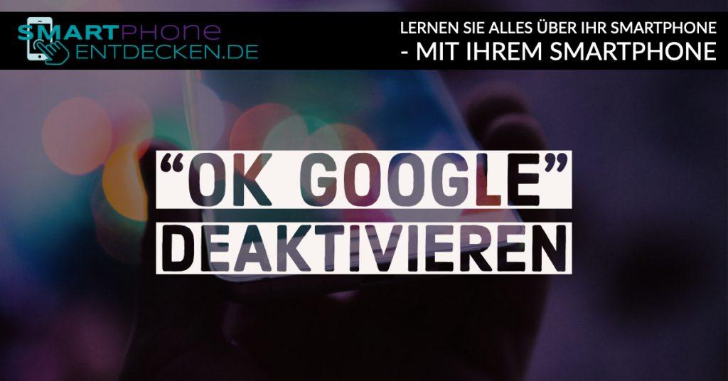 So deaktivieren Sie die Spracheingabe des Google-Assistenten
