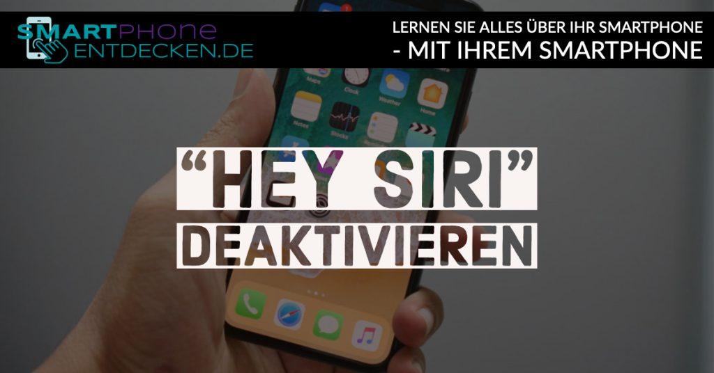 So deaktivieren Sie die Spracheingabe des Apple-Sprachassistenten