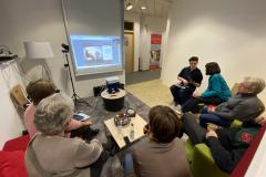 hybride Kleingruppenarbeit mit online-Referenten